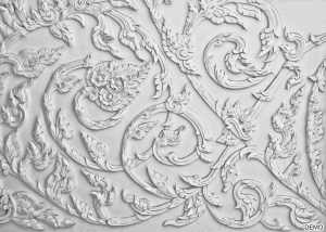Stucco Bands and Designs